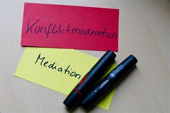 Mediation oder Konfliktmoderation - Konfliktmanagement in Berlin